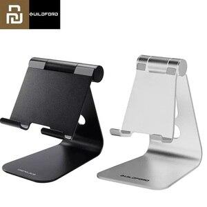 Image 1 - Youpin נייד טלפון מחזיק Tablet שולחן העבודה Stand טלפון סוגר יציב ללא רועד אלומיניום 7/12 סנטימטרים עבור משרד בית