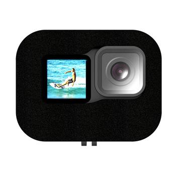 Akcesoria do kamer sportowych akcesoria do kamer sportowych pianka do przedniej szyby obudowa wiatroodporna do Gopro Hero 9 tanie i dobre opinie ALLOYSEED Windshield CN (pochodzenie) Foam Reduction Cover for Gopro Hero 9 Camera Foam Windshield Black 8 X 7 X 5cm 3 15 X 2 76 X 1 97
