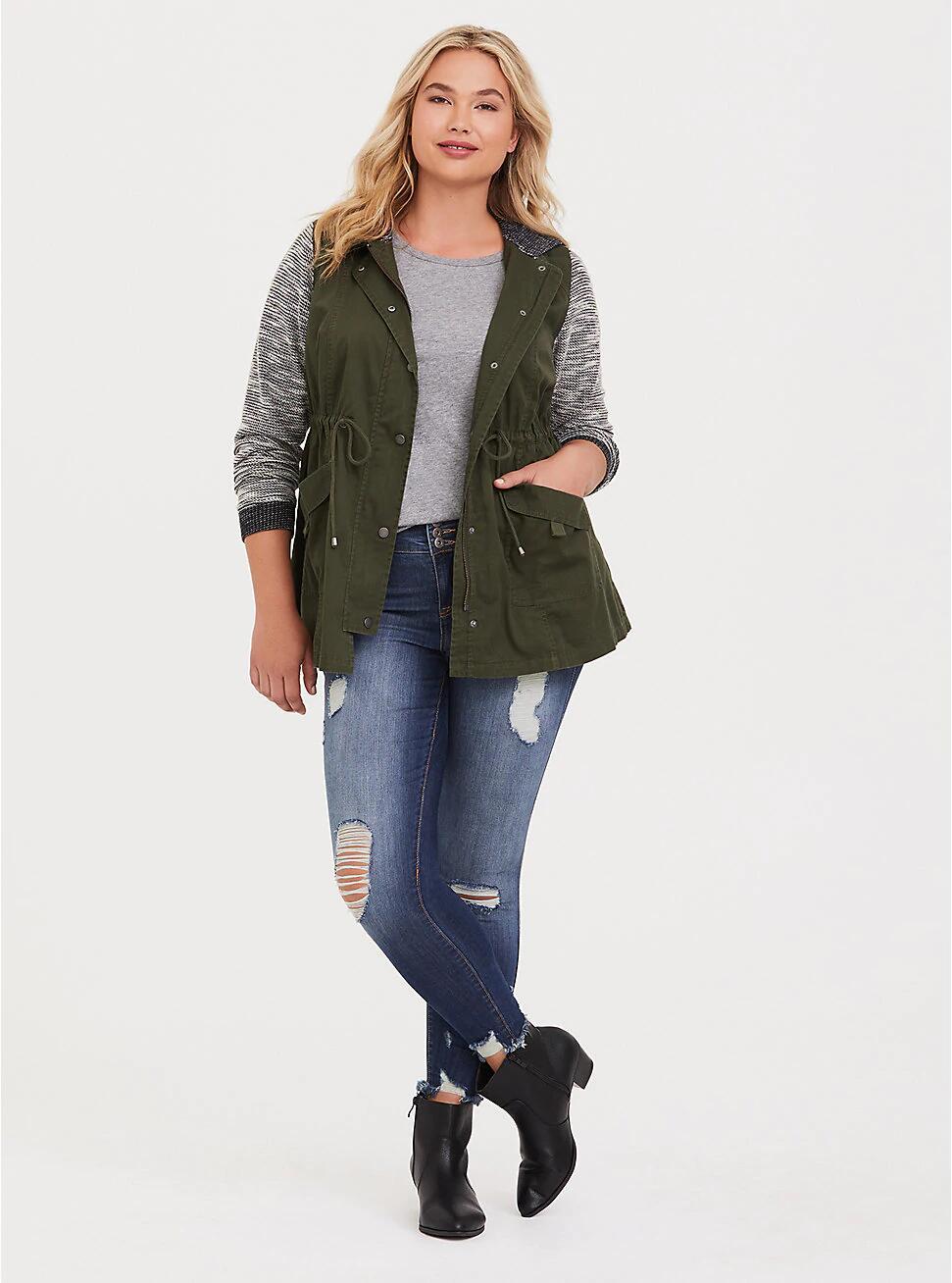 2019 NEW Fashion Plus Size L-5XL Spring Women Blend Coat Hooded Windbreaker Female Windproof Outerwear   Basic     Jacket   Coat Tops