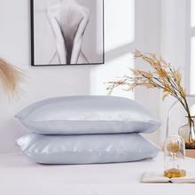 100% queen standard pillowcase silk satin soft mulberry lisa