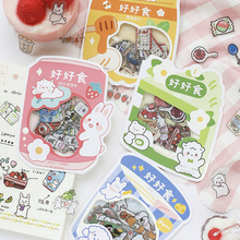 45pcs/lot Cute INS Style Sticker Package DIY Diary Bullet Journal Decoration collage Stationery Sticker aesthetic Scrapbooking