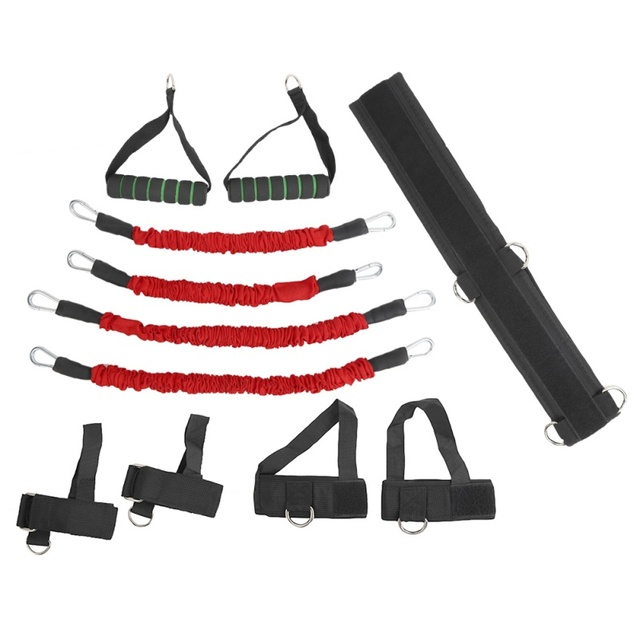Stretching Strap Set Resistance Bands for Leg and arm Exercises Boxing Muay Thai Home Gym Bouncing Strength Training Equipment 2