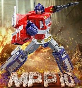 Image 2 - שינוי OP מפקד WJ MPP10 MP10 G1 סגסוגת פעולה איור רובוט רכב Oversize מעוות צעצועי ילדים מתנות