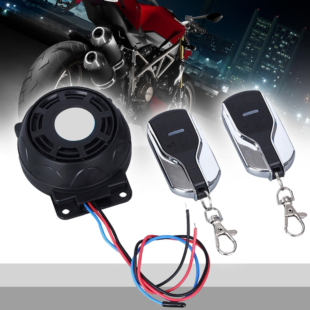Alarm Scooter Bike Motorcycle Alarm System Moto Security Speakers Anti-theft Security System For Honda Yamaha
