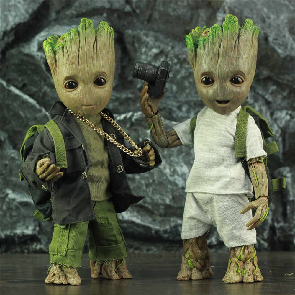 25cm Guardians of the Galaxy 2 Baby Groot 1:1 Scale Action figure Kids Toys