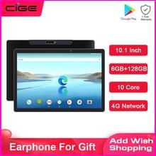 O mais novo android 4g tablet pc 10.1 Polegada 10 core 1920x1200 ips 6gb ram 128gb rom mtk6797 tipo-c gps duplo wifi bluetooth 5.0 comprimidos