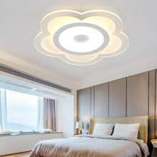 Modern Flower Ceiling Lights LED Ceiling Light Ultra-thin For Living Room Lamp Bedroom Panel Surface Mount Remote Control - DISCOUNT ITEM  49% OFF Lights & Lighting