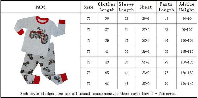 Children Sleepwear Baby Nightwear Pyjamas Kids Homewear Nightwear Full Sleeve Cotton Baby Girls Unicorn Pajamas Sets 2