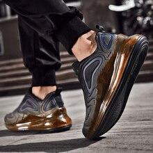 2019 zapatos de diseñador de lujo de moda para hombre zapatillas de plataforma de diseñador vintage triple rojo fondos de aire cojín cielo 720 zapatos Casuales