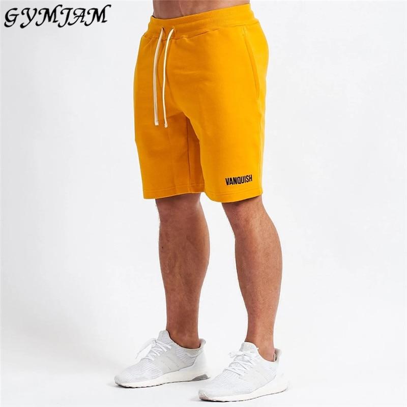 New Men's Sports Pants 2020 Brand Men's Shorts Jogger Muscle Men's Fitness Fashion Pants Street Summer Casual Men's Clothing