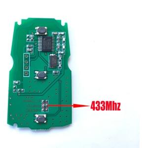 Image 3 - 3 buttons Car key For BMW E87 E60 E70 E90 E92 E71 E61 For BMW 1 3 5 7 Series X5 X6 Z4 Remote key 868Mhz/315Mhz/433Mhz PCF7953