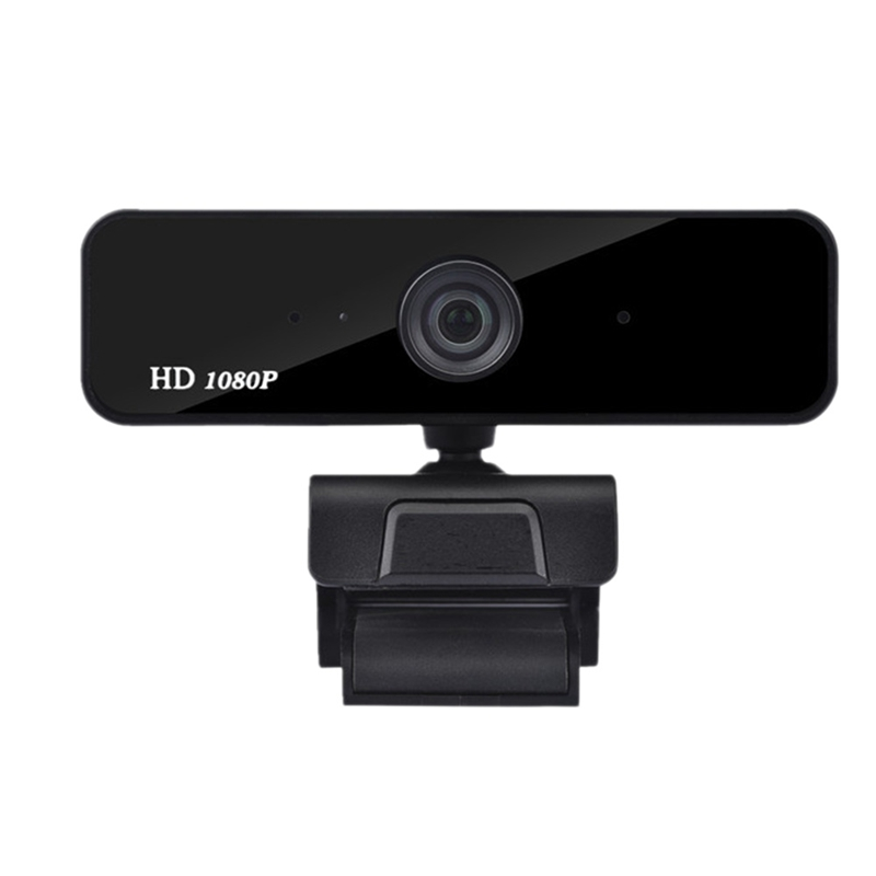 1080P Webcam, Built-in Dual Microphones, Full HD Video Camera for PC, USB Plug and Play, Real-Time Video Chat Meeting