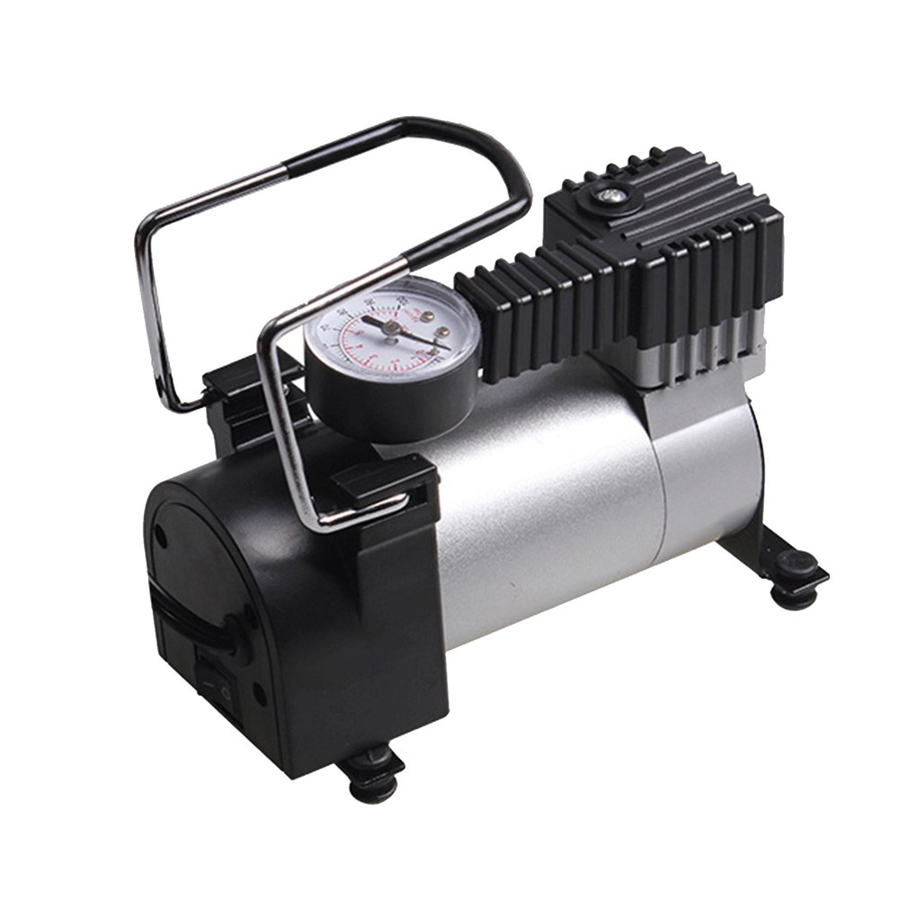 Pump Air Compressor 12V Portable Car Electric Inflator Electric Tire Tyre Inflator Pump AC-480 For Auto Bicycles Motorcycle Sale