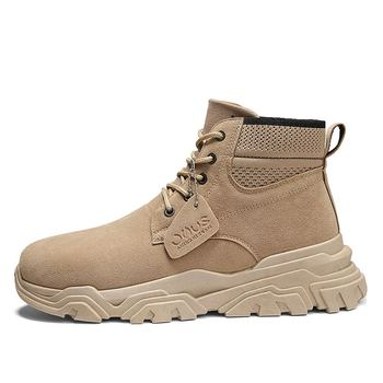 2020 Shoes New Men Casual Shoes High Top Sneakers Men Shoes Platform Sneakers Quality Men's Sneakers фото
