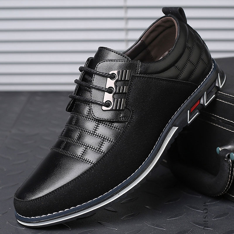 2020 New Leather Shoes Men's Casual Shoes Men's Breathable Non-slip Sports Shoes Men's Shoes Leather Men's ShoesZH100503