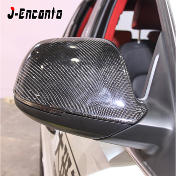 Q5 tapas de espejo de carbono de PU de alta calidad 11 reemplazo OEM cubierta de espejo lateral para Audi Q5 SQ5 Q7 2010-2017