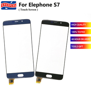 """Image 1 - 5.5"""" For Elephone S7 Touch Screen Glass Digitizer Panel TouchScreen Sensor For Elephone S7 Cell Phone Front Glass Outer Panel"""