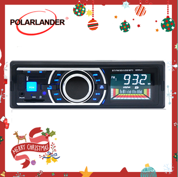 Car Radio1 Din Autoradio Auto Radio In-Dash Support Fm Transmitter USB/SD Car Mp3 Player With Remote control Bluetooth Audio image