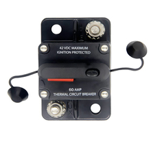 60 100 150 250 AMP devre kesici sigorta sıfırlama 12-48V DC araba tekne otomatik su geçirmez sigorta kutusu sigorta araba Fusibles Amplificador