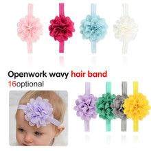 1pieces/lot New Baby Headband Cotton Bow Kids Girls Headwear Children Hair Accessories Shower Gift Infant