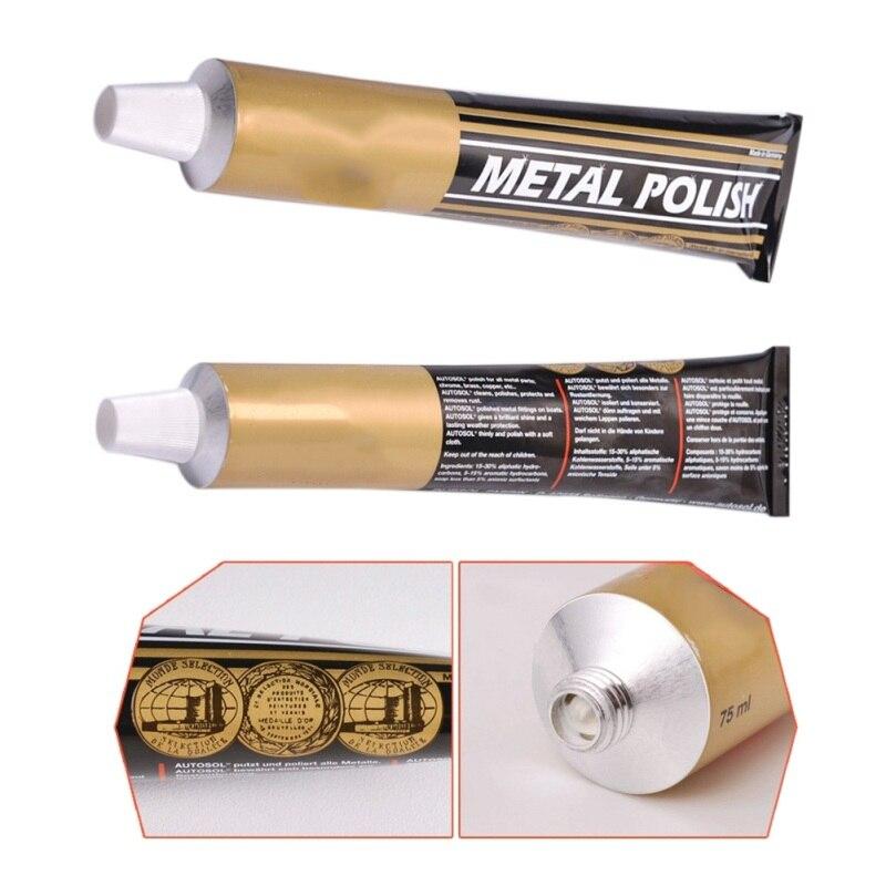50g/100g Metal Polishing Cream Knife Scissors Polishing Wax Mirror Metal Stainless Steel Watch Polishing Paste