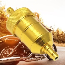 Universal 8mm Petrol Gas Fuel Filter Cleaner For Motorcycle Pit Dirt Bike ATV Oil