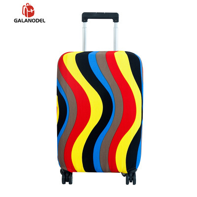 Rolling Luggage Cover Fashion Trolley Case Wheel Suitcase Cover Suitable For 18-28 Inch Travel Duffle