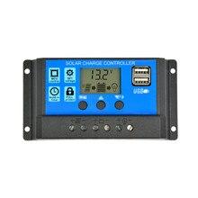 SUNYIMA Солнечный Контроллер заряда 12 в 24 В 50A 40A 30A 20A автоматический контроллер солнечной панели Универсальный USB 5 В зарядка ЖК-дисплей