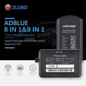 Image 1 - Adblue 8in1 شاحنة Adblue محاكي 8 في 1 دعم Euro4 و 5 أفضل جودة Adblue مع NOx الاستشعار 3.0 جهاز adblue 9 في 1