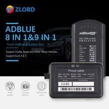Adblue 8in1 Truck Adblue Emulator 8 In 1 Ondersteuning Euro4 & 5 Beste Kwaliteit Adblue Met Nox Sensor 3.0 Apparaat adblue 9 In 1