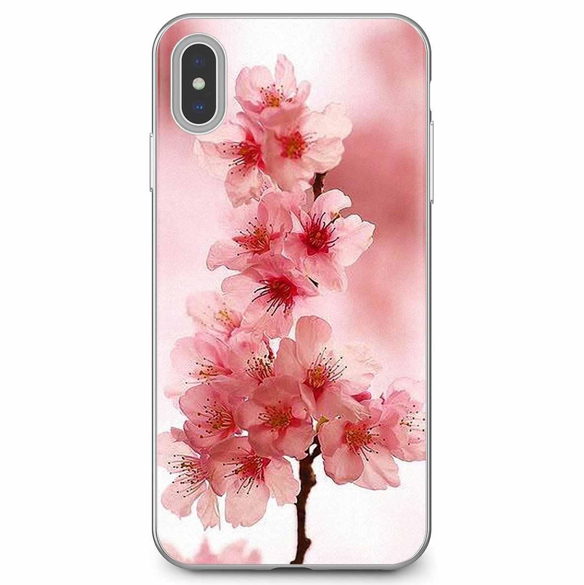 Blume sakura kirschblüten Rosa Weiche Silikon Fall Für ZTE Blade A910 A610 A530 A510 Für Oneplus One plus 3T 5T 6T 6 7 7T Pro