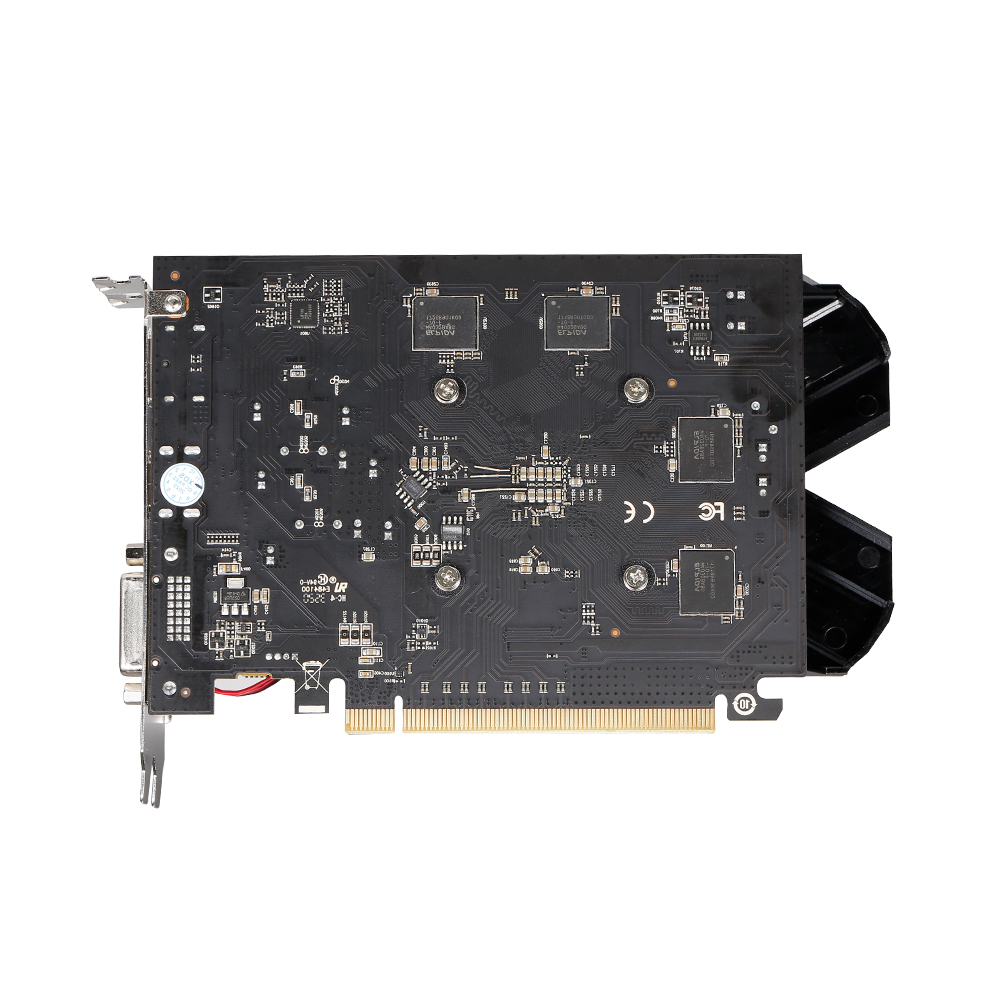 VEINEDA Оригинал RX 550 4 Гб видеокарты GPU AMD Radeon RX550 4 ГБ GDDR5 видеокарты PC Настольный компьютер игровая карта PCI-E X16-4