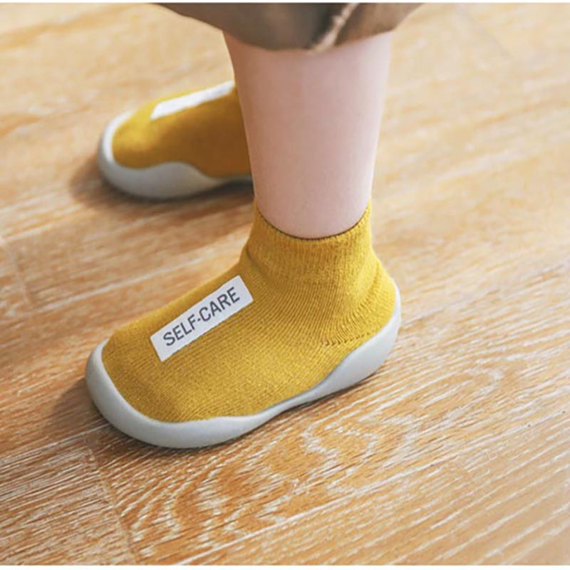 Baby First Walker Shoe Unisex  Baby Walkers Shoes Toddler Kids  Girl  Soft Rubber Sole Baby  Knit Booties Anti-slip
