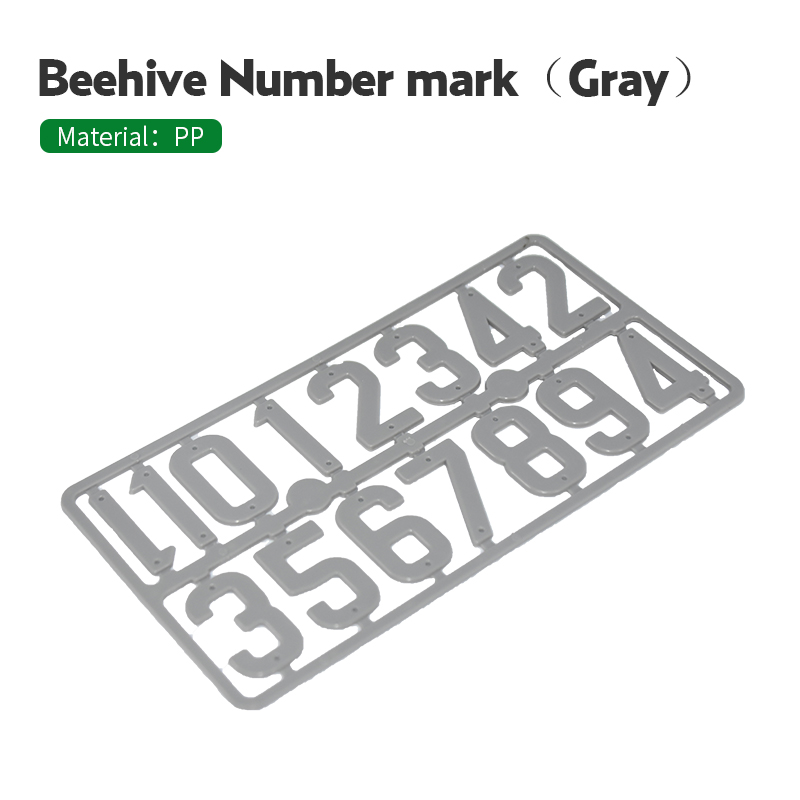 Beehive Number Marking Board Plastic Bee Case Box Frame Signal Identification