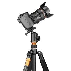 Image 5 - Qzsd beike q999c 탄소 섬유 전문 삼각대 monopod ballhead changeabel dslr 카메라 1400g netweight 159cm 최대 높이