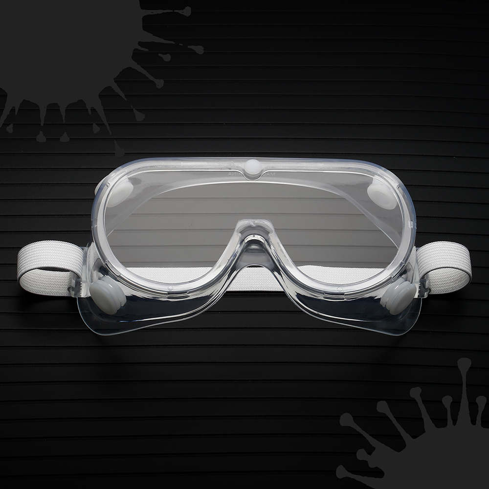 Workplace Face Masks Safety Goggles Eyes Protection Clear Glasses Wind And Dust Anti-virus Anti-fog Protective Glasses