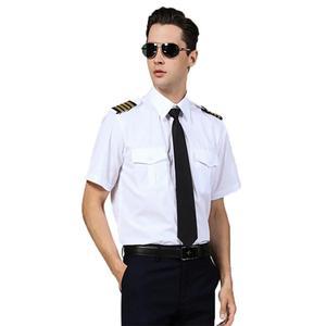 Классическая футболка с пилотом, взрослая белая capанская форма, Epaulette, платье для ролевых игр на Хэллоуин