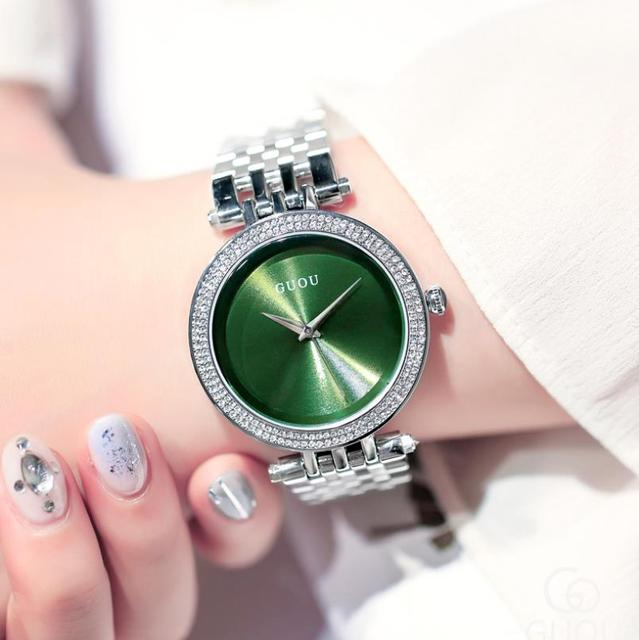 Zegarek Damsk Romantic Luxury Women Watches 2019 Fashion Quartz Lady Wristwatch Casual Female Clock Reloj Mujer Bayan Kol Saati