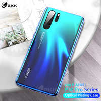 GKK Tempered Glass Case For Huawei P30 Pro Case Optical Plating All-included Protection Soft Edge Cover for Huawei P30 Pro funda