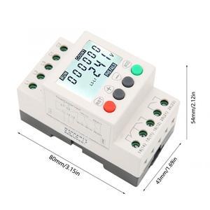 Image 4 - JVR800 2 저전압 보호 장치 3 상 전압 모니터링 시퀀스 보호 릴레이