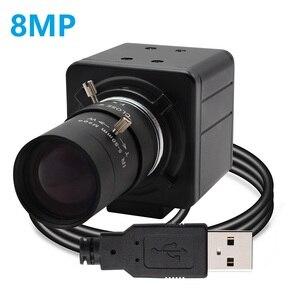 8-мегапиксельная USB-камера SONY IMX179, CMOS-датчик, веб-камера с USB 2,0 для ПК, видеокамера 8 МП с вариофокальным объективом 2,8-12 мм/5-50 мм Maual Zoom