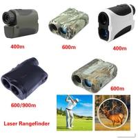 Monokulare Teleskop Laser entfernungsmesser Teleskop Jagd Golf Outdoor Sport Laser Range Finder Messung Werkzeuge 600M/900M neue-in Entfernungsmesser aus Sport und Unterhaltung bei