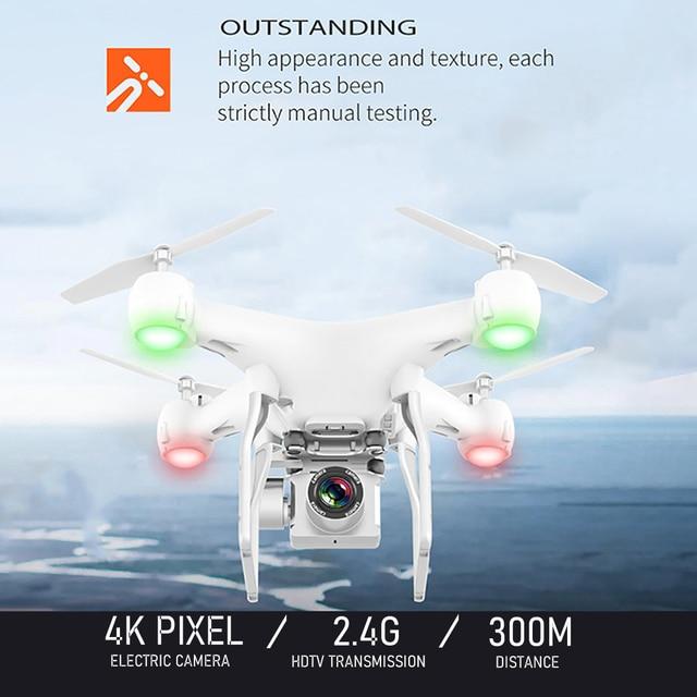 RC zangão fpv quadcopter uav com ESC câmera 4k profissional grande-angular fotografia aérea longa vida controle remoto voar máquina brinquedos 4