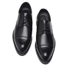 2020 Men Dress Shoes Handmade British Style Paty Leather Wedding Shoes Business Men Leather Oxfords Formal Shoes