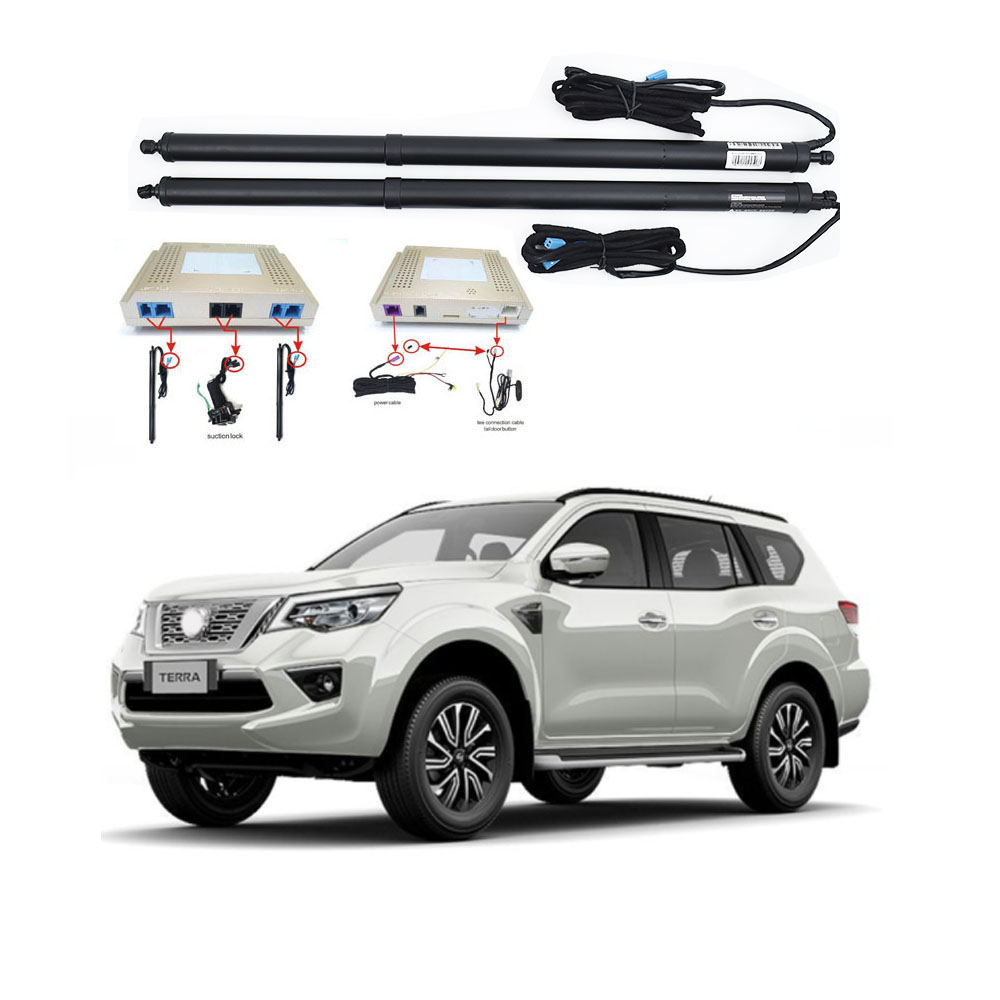 New Electric Tailgate Refitted For NISSAN TERRA 2017-2020 Tail Box Intelligent Electric Tail Door Power Tailgate Lift Lock