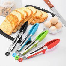 Пищевые Щипцы norbi нескользящий кухонный прибор из нержавеющей