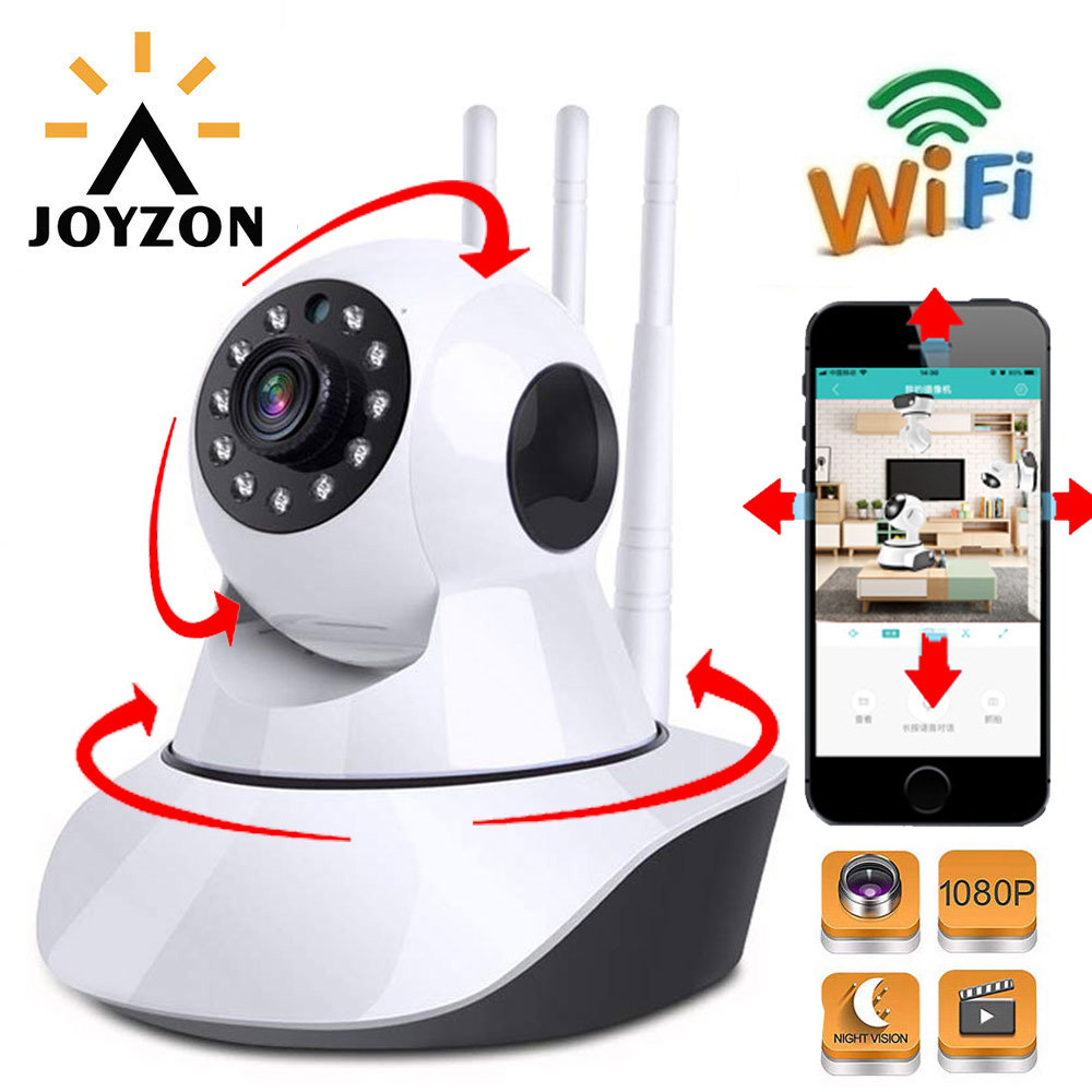 HD 1080P IP Camera Wireless Baby Monitor WiFi Dome Night Vision Auto Tracking Home Security Surveillance CCTV Pet Indoor Cam
