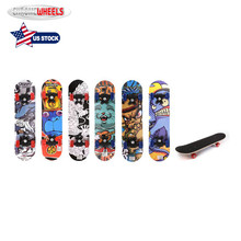 ChromeWheels Children Cartoon Printed Skateboard Complete Longboard Double Kick Skate Board Cruiser 8 Layer Maple Deck for Extre 1 set quality usa complete skateboard deck 7 875 8 8 125 8 25 inch