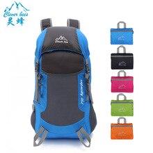 CleverBees, новинка, мужская и женская складная сумка, ультра-светильник, сумка для путешествий, рюкзак для улицы, рюкзак для альпинизма, сумка, портативный светильник