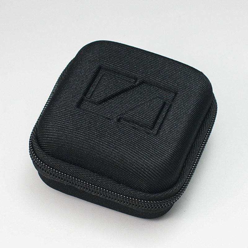 1PC Black Square Earphone Storage Box Portable SD Card Protection Box Earphone Carrying Box For Sennheiser CX6 Hard Case